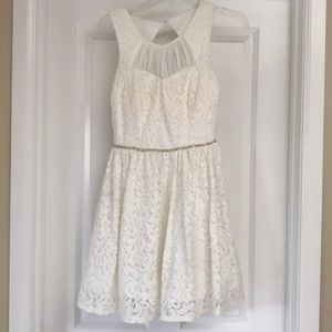 White prom/homecoming/formal dress